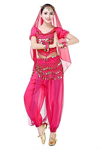 SMACO Van Dans Kostuum Buik 5 Kamers/Ensemble Kostuum Sets Van Egypte Buik Dans Kostuum Jurk Indian Bollywood Buik Dans Jurk
