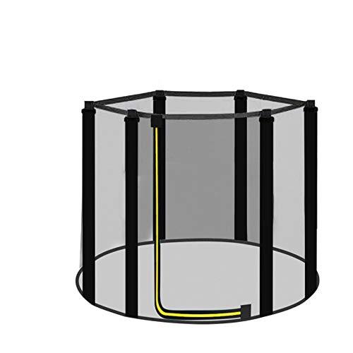 Primlisa Red de trampolín para Cama elástica Infantil al Aire Libre, Red de trampolín Ø 120/140/150 cm, Accesorios de trampolín de Ocio, Red de trampolín con Cremallera