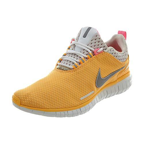 Nike Free Og '14 Br ATMC MNG/Mtllc SLVR/pnk GLW/lt Laufschuh 6 Us