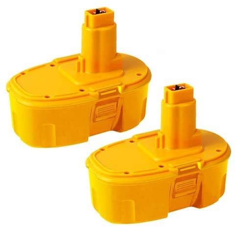 Masione 2 Pack 4.0Ah DC9096 Batteries Replace for Dewalt 18V Battery DC9099 DC9098 DC9096 DW9099 DW9096 DW9098 DC9181 Battery