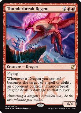 Magic The Gathering - Thunderbreak Regent (162/264) - Dragons of Tarkir