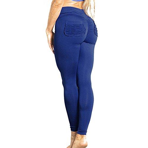 Juleya Damen Leggings Hoch Taille Yoga Hosen Frauen Tights Jogginghose Push Up Trainingshose Weich Bequem Laufenhose Elatisch Sporthose Leggins für Fitness Workout Gymnastik