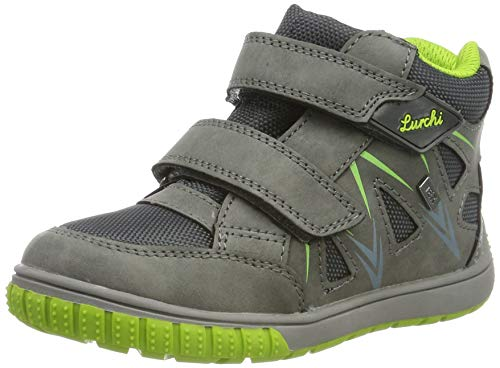 Lurchi Baby Jungen Jorge-TEX Sneaker, Grau (Grey 25), 23 EU