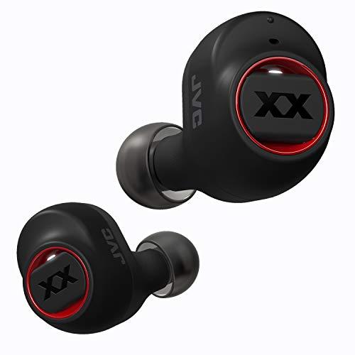 JVC HA-XC50T-B 完全ワイヤレスイヤホン XXシリーズ 本体質量5.6g小型軽量ボディ 最大14時間再生 防水・防塵・耐衝撃のタフボディ Bluetooth Ver5.0対応/ブラック