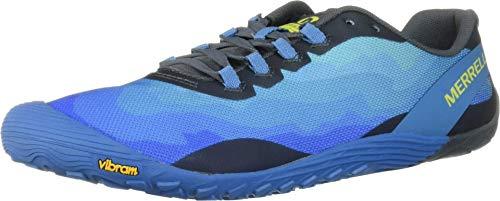 Merrell Vapor Glove 4, Zapatillas Hombre, Azul (Mediterranean BLU), 47 EU