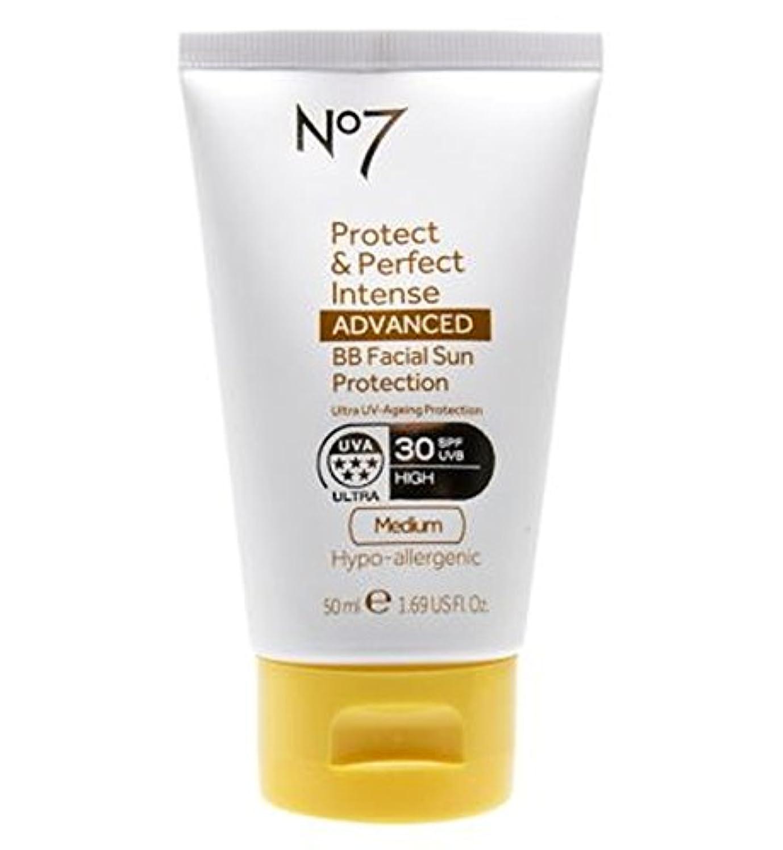 アナニバー変装塗抹No7 Protect & Perfect Intense ADVANCED BB Facial Sun Protection SPF30 Medium 50ml - No7保護&完璧な強烈な先進Bb顔の日焼け防止Spf30培地50ミリリットル (No7) [並行輸入品]