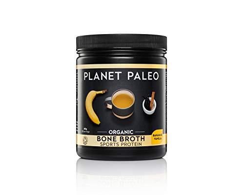 Planet Paleo Organic Vanilla and Banana Sports Protein Powder - 480g