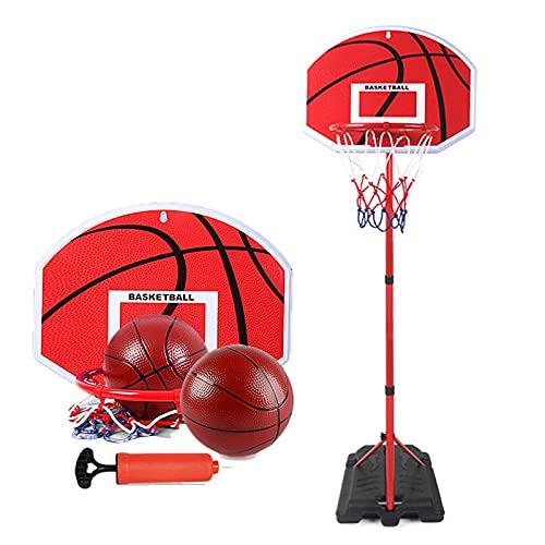 Basketball Hoop Canasta Baloncesto Infantil, Plegable y Ajustable Canastas de Baloncesto para Casa, Mini Juguetes Jardin Exterior Niños