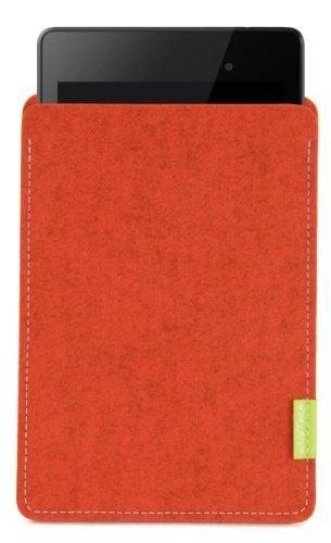 WildTech Sleeve für Asus Google Nexus 7 2013 (2. Generation) - 14 Farben wählbar (Rost)