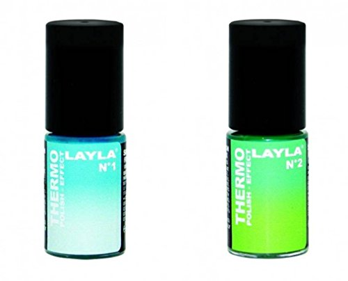 LAYLA THERMO NAGELLACK DUO PACK N°6