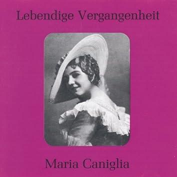 Lebendige Vergangenheit - Maria Caniglia