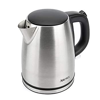 Aroma Housewares Housewares 1.0L / 4-cup Stainless Steel Electric Kettle  AWK-267SB