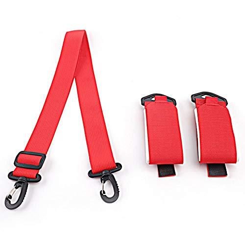 Alomejor Ski Carrier Strap 2 uds Ski Shoulder Carrier Holder Ski Correa con Gancho y Lazo Dise/ño para Proteger los esqu/ís y Mantener los esqu/ís Juntos Ordenado para los entusiastas del esqu/í