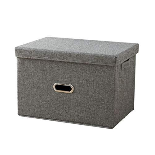 Hanpiyigzwl Contenitori Plastica, Scatola di stoccaggio pieghevole scatola di immagazzinaggio scatola di stoffa armadio armadio scatola di stoccaggio scatola di rifinitura abbigliamento domestico abbi