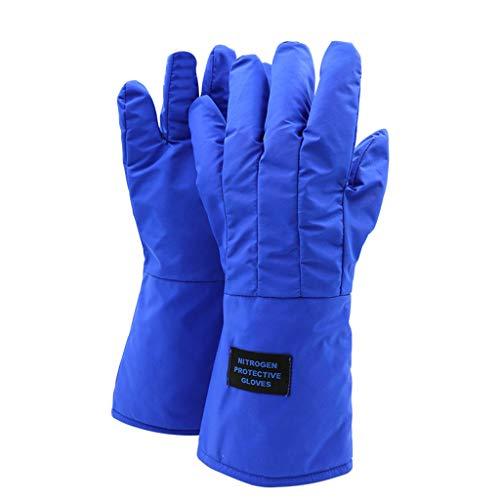 QYSZYG Anti-Flüssig-Stickstoff-Handschuhe, Frostschutzmittel und niedrige Temperaturen beständige Handschuhe, LNG-Tankstelle Trockeneis-Test Kühllager spezielle Kalthandschuhe