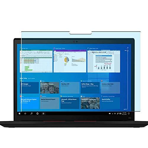Vaxson 2 Unidades Protector de Pantalla Anti Luz Azul, compatible con Lenovo ThinkPad X13 Gen 2 G2 13.3' [No Vidrio Templado] TPU Película Protectora