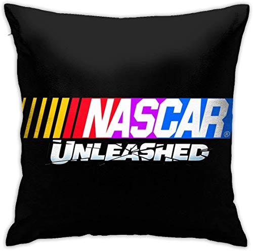 ALASANG Nascar Unleashed Pillowcase Polyester Cushion Cover Federa per Cuscino Caso a Cuscino Sofa Home Decorativo