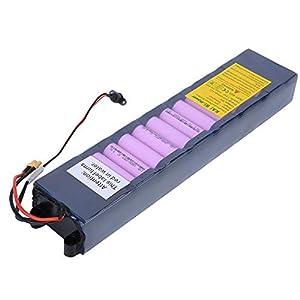 Keenso Batería de Scooter eléctrico, 36V 7800mAh Batería de Litio de protección de Ocho capacidades de Gran Capacidad Paquete de batería de Scooter eléctrico para Scooter M365
