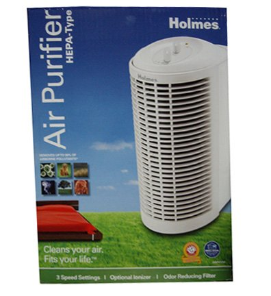 For Sale! Holmes® HAP412W HEPA-Type Mini Tower Air Purifier