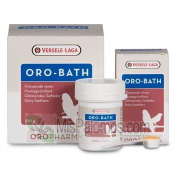 Poudre Oro-Bath de Versele-Laga Oropharma - 300g Pour pigeons, oiseaux et volaille.