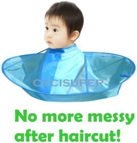 lowest Kids Children Haircut Haircutting Hair Cut Catcher high quality Apron Cape Hairdresser popular Barber Economize online sale