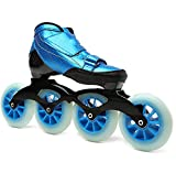 Speed Skating Pattini in Linea per Adulti Carbonio Rollerblade Professionale Pattini a Rotelle Pattini Comodi Scarpe Ldeali per Principianti per Le Donne e Uomo Sport Outdoor Blue-43