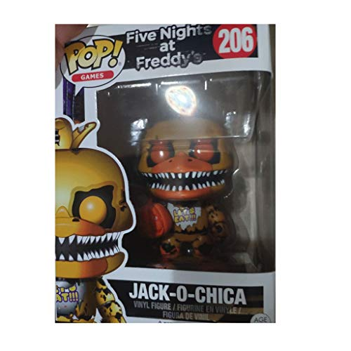 Funko Pop Games : Five Nights at Freddy'S - Jack o Chica 3.75inch Vinyl Gift for Games Fans SuperCollection