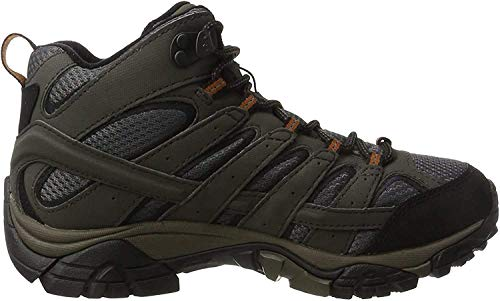 Merrell Damskie buty trekkingowe Moab 2 Mid GTX, szary - szary Beluga - 38.5 EU