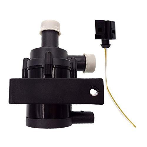 Motorkühlung Zusätzliche Zusatzwasserpumpe 1K0965561J / Fit for VW Jetta Golf GTI Passat CC/Fit for Audi A3 1K0965561 1K0 965 561 J (Color : Water Pump and Line)