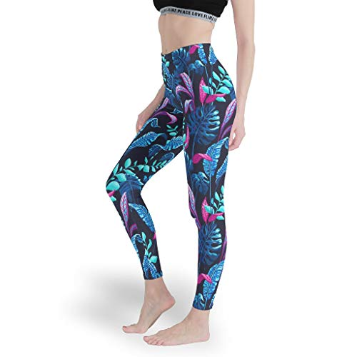 Mädchen Ultra Soft Leggings Hohe Taille Yoga Hosen Yoga Design Capris Tights für Laufen White m