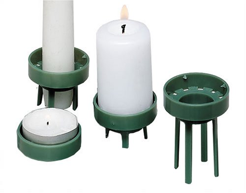 MOSY 33101 Multilux 4 Stück Kerzenhalter universal