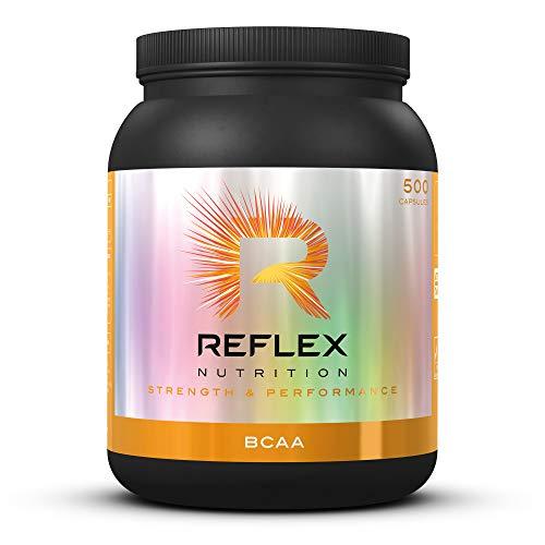 Reflex Nutrition BCAA Capsules Branched Chain Amino Acids (BCAA) L-Leucine, L-Isoleucine & L-Valine (500 Caps)