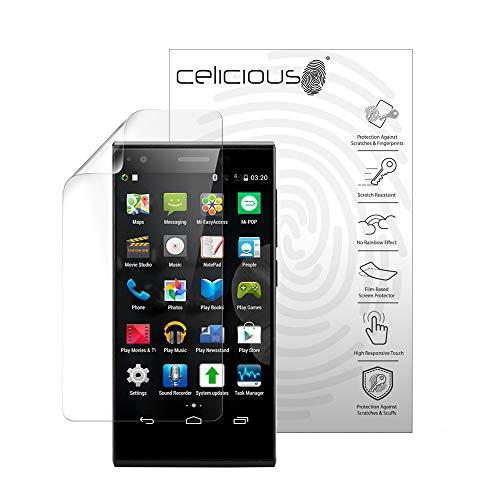 Celicious Vivid Plus Leichte, entspiegelte Bildschirmschutzfolie kompatibel mit dem ZTE Blade Vec 3G [2er Pack]