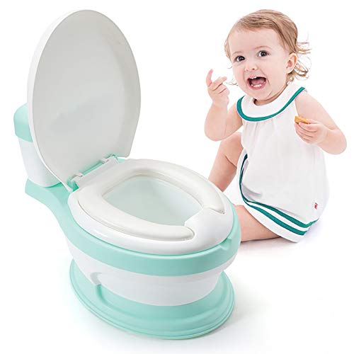 Threesome Potty Training for Kids Toddlers,Sturdy, Safe & Adjustable Height W/Anti Slip Pads. Easy Fold Trainer for Boys Girls Baby,Suitable for Children Aged 1-7