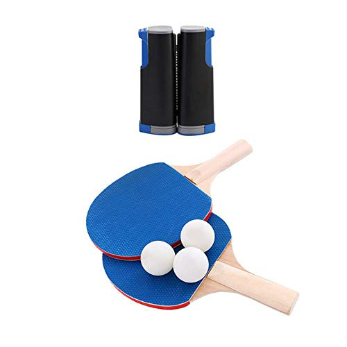 Best Price 3 Professional Table Tennis Sports Training Set Racket Mesh Table Tennis Student Sports E...