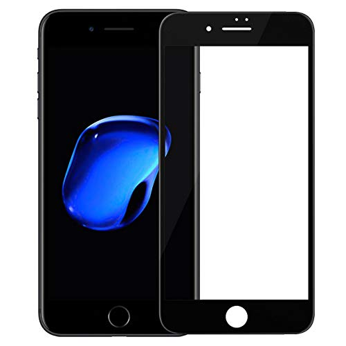 "Nillkin Tempered Glass for Apple iPhone 7 / Apple iPhone SE2 SE 2 iPhone SE 2020 (4.7"" Inch) 3D CP+ Max Glass 0.1mm Thin Edge Shaterproof Full Screen Coverage Explosion Proof Screen Protect Black Color"