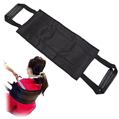 Cinturón móvil de transferencia de cama acolchado, cinturón de elevación de enfermería para silla de ruedas con asas para personas mayores, pediátrico, anciano, discapacitado, paciente