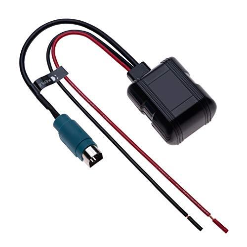 Alpine Bluetooth 10 Pin Interfaz música Cable Audio