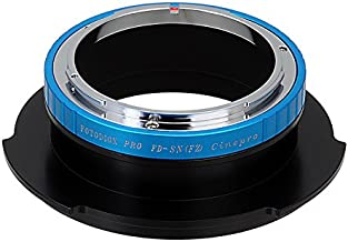 Fotodiox Pro Lens Mount Adapter, Canon FD Lens to Sony FZ Mount Camera Adapter - fits Sony PMW-F3, F5, F55 Digital Cinema Camcorders and has Built-In Lens Aperture Control for Canon FD & FL Mount Lenses