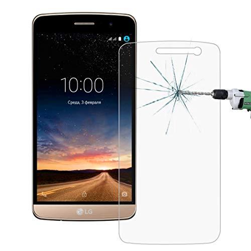 Película de cristal moderada del teléfono móvil 2.5D Película de pantalla de vidrio templado a prueba de explosionesGrosor de 0.26 mm con 9H Dureza superficialPara LG Ray / X190 Película de vidrio t