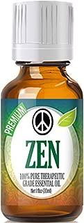 Zen Essential Oil Blend - 100% Pure Therapeutic Grade Zen Blend Oil - 30ml