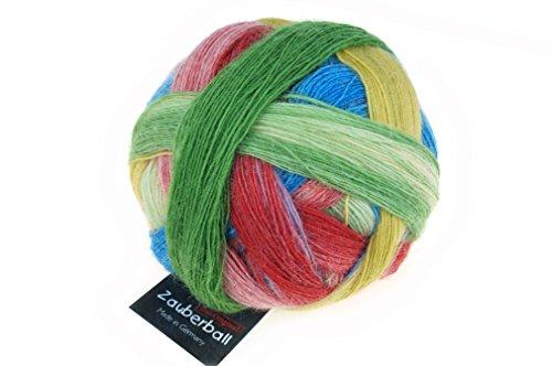 Schoppel-Wolle Zauberball, Bunte Gasse, 100g Wolle mit langem Farbverlauf