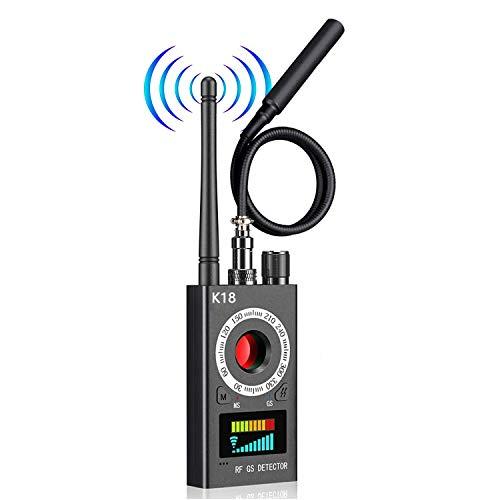 Hidden Camera Detector Anti Spy Detector - RF Finder, Bug Detector, Hidden Device Detector for GPS Tracking GSM Listening Device Finder