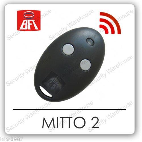 U9A2 BFT MITTO 2 Knop KeyFob Afstandsbediening Rolling Code Elektrische Poort Fob NIEUW