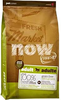 Petcurean Now! 152313 Fresh Grain Free Small Breed Adult Dog Food, 25-Pound Bag