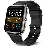 KALINCO Smartwatch,Smartwatch Uomo con Cardiofrequenzimetro,Orologio da Donna per Il Sonno Calorico Smartwatch con Monitor della Pressione Sanguigna e Dell'ossigeno nel Sangue,per Android iOS