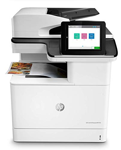 Lowest Price! HP Color Laserjet Enterprise Multifunction M776dn All-in-One Duplex Printer with JetIn...
