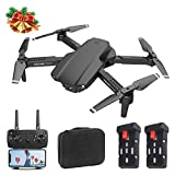 AQUAROBO Foldable FPV Mini Drone,UAV with 4K HD 50x Zoom Camera for Kids and Adults, Auto Fixed- Height Hover,Real Time Image Transmission, Gesture Control, One Key take Off/Landing and Return