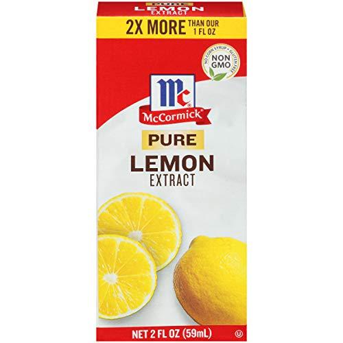 McCormick Pure Lemon Extract, 2 Fl Oz (Pack of 1)