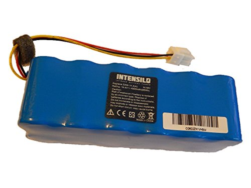 INTENSILO Batería de repuesto para bicicletas eléctricas, e-bike DJ96-00136B para robot aspirador Samsung Navibot (4500mAh, 14.4V, NiMH)